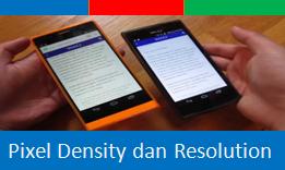 Apa Maksud dari Pixel Density dan Resolution