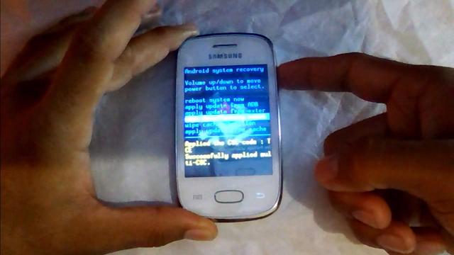 Resetear cuenta google Samsung S5301 Galaxy Pocket