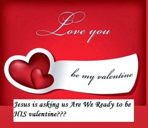 Valentines Day Christian Greetings Card