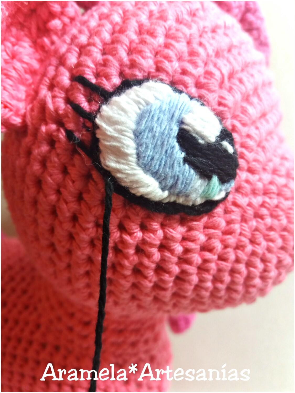 Aramela Artesanías  Cómo bordar ojos para amigurumis 2bd6f96b560