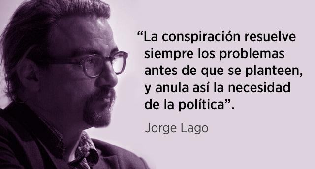 """Jorge Lago: """"La astucia del zorro frente a la fiereza del lobo"""""""
