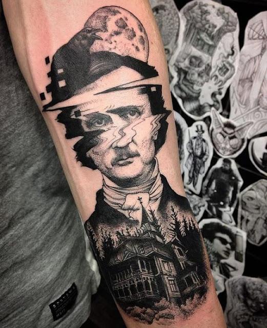Tatuagem falha de impressão