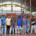 Gestão e Serviços trabalhando para deixar ginásio pronto para o campeonato de blocos 2017