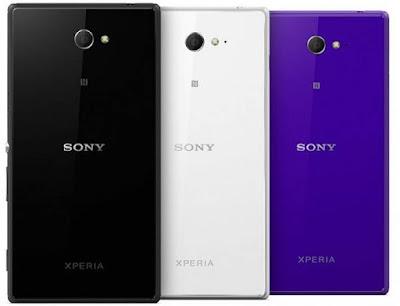 Pilihan Warna Sony Xperia M4 Aqua