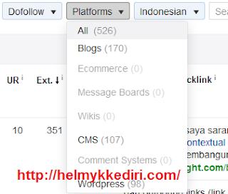 Cara mengetahui backlink website 4