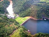 Wisata Waduk Riam Kanan Desa Aranio