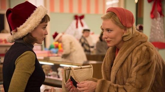 Rooney Mara-Cate Blanchett- Carol 2015