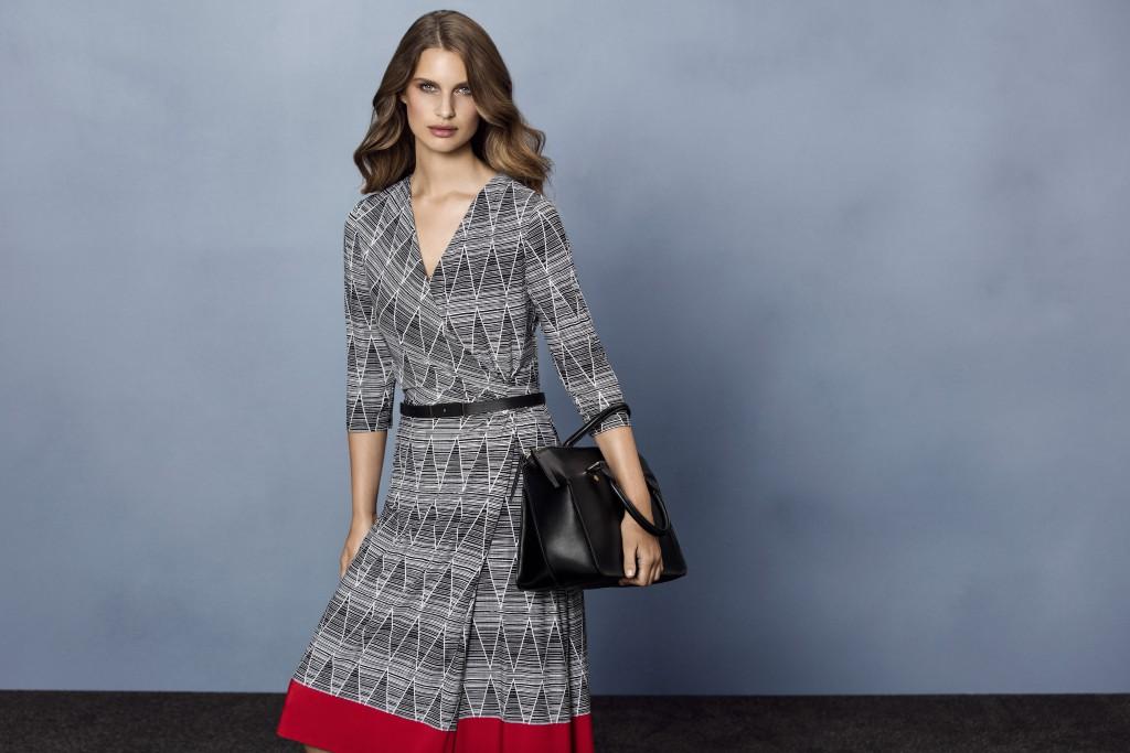 Model Busana Untuk Orang Dengan Perut Buncit Pilih Wrap Dress