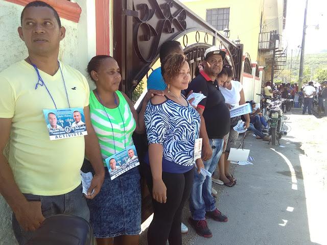 Convención del PRM se desarrolla en un ambiente de Paz y Armonía en el Municipio Santa Cruz de Barahona.