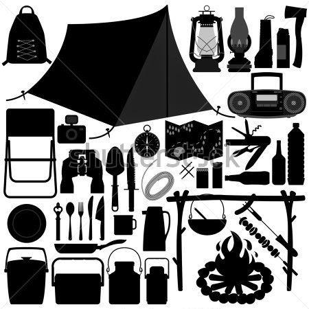 e48537937 Alguns afoitos quando resolvem acampar vão comprando tudo que veem pela  frente