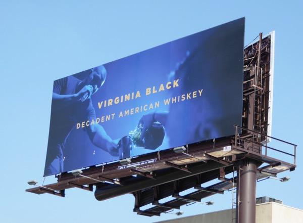 Drake Virginia Black Whiskey billboard