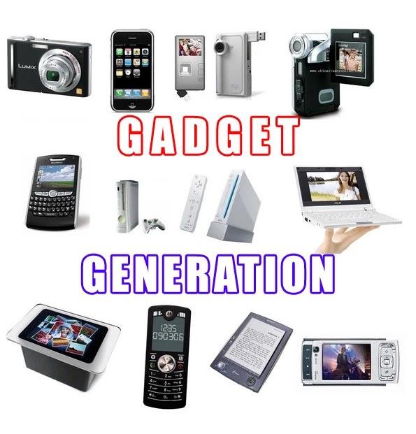 Generasi Penerus Gadget dari masa ke masa