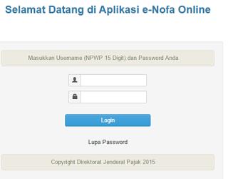 Cara Meminta Nomor Seri Faktur Pajak Secara Online Pada Aplikasi E-Nova Online
