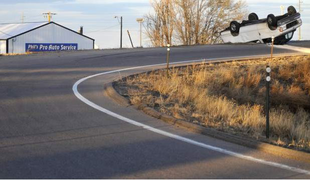 Van Angels: Colorado: 15-passenger van rolls over on U S  34