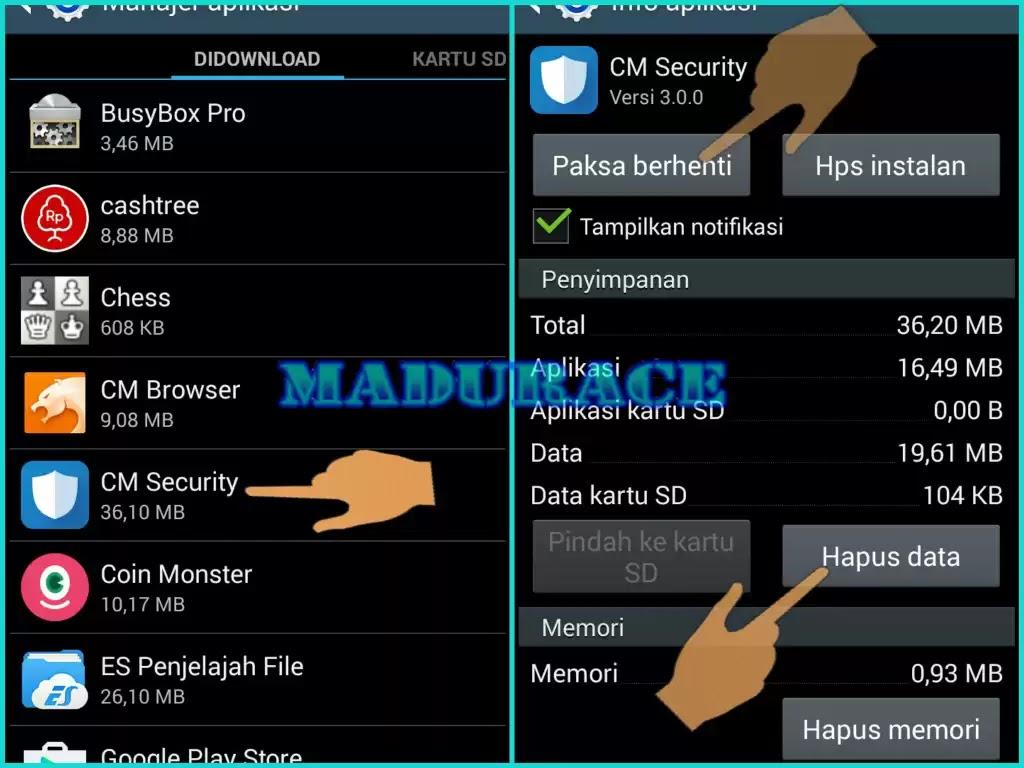 Cara Membuka Aplikasi Android Yang Terkunci Madurace