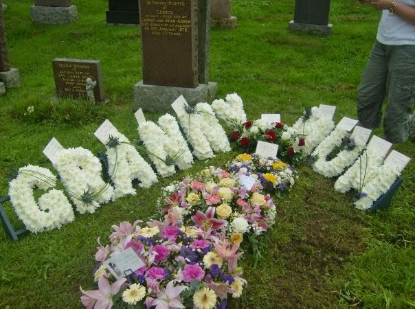 granny mum funeral borgue
