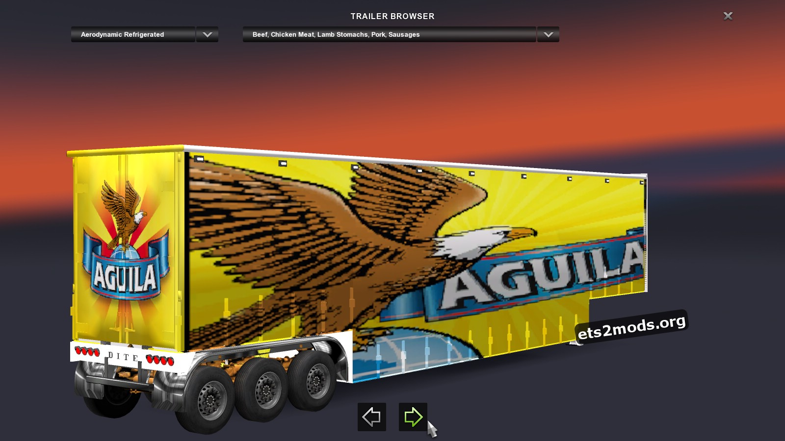 Pack With Colombian Trailers