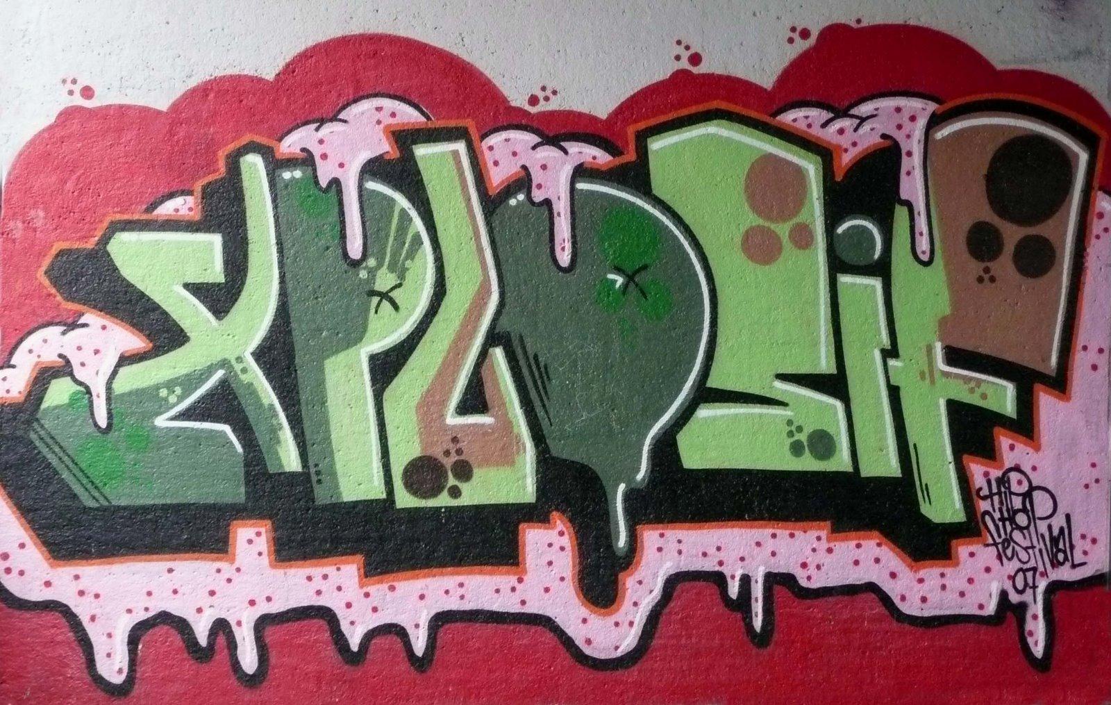 7 Graffiti Bubble Backgrounds