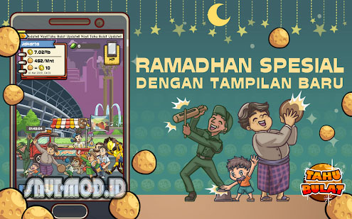Tahu Bulat MOD APK 12.1.2 for Android Unlimited Money