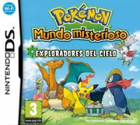 Pokemon Mystery Dungeon Explorers of the Sky NDS español mega