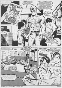 Capitão América, Thor, Superman e Judoka por Eugênio Colonnese