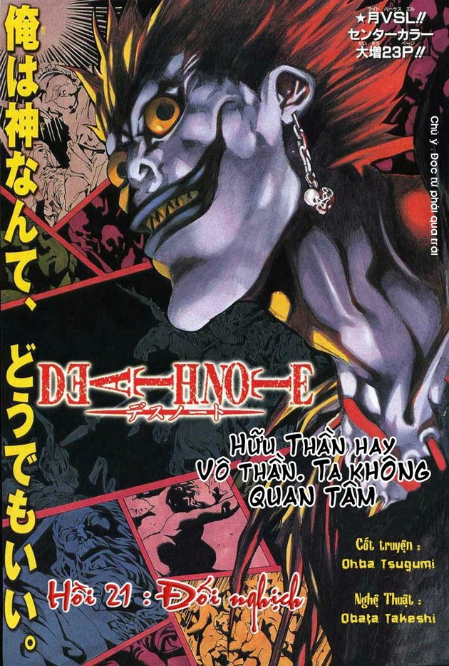 Death Note chapter 021 trang 2