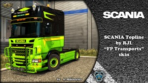 Scania RJL FP Transports Kit