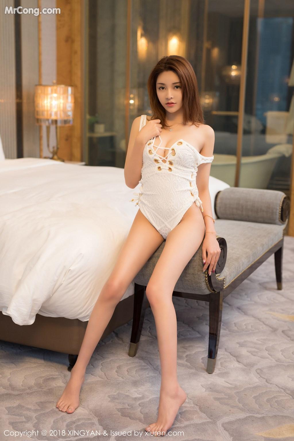 Image XingYan-Vol.099-Selina-MrCong.com-001 in post XingYan Vol.099: Người mẫu Selina思思 (42 ảnh)