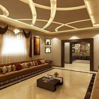 modern living room indirect lighting ideas for false ceiling and wall