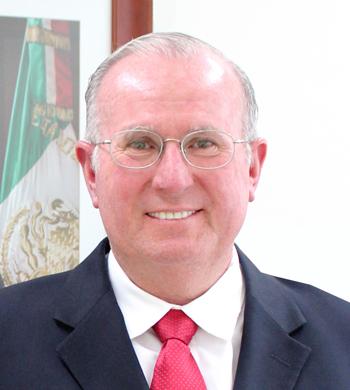 DIRECTOR DE AGENCIA ESPACIAL MEXICANA VISITA ARGENTINA - ENTREVISTA 1