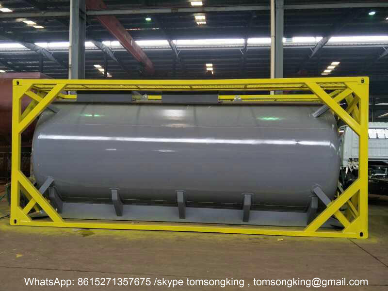 Hydrochloric Acid HCL 33% 20ftTank Container & Hydrochloric Acid HCL 33% ISO 20FT Tank Container For export ...