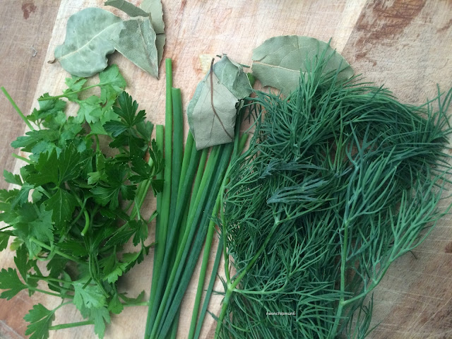 Parsley Bay Leaf Chives Dill