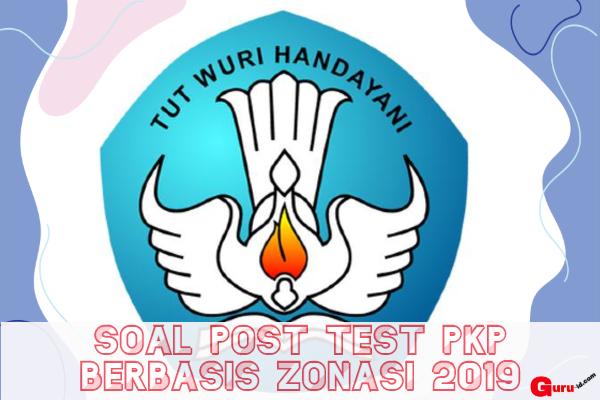 gambar soal pedagogik post test pkp berbasis zonasi 2019