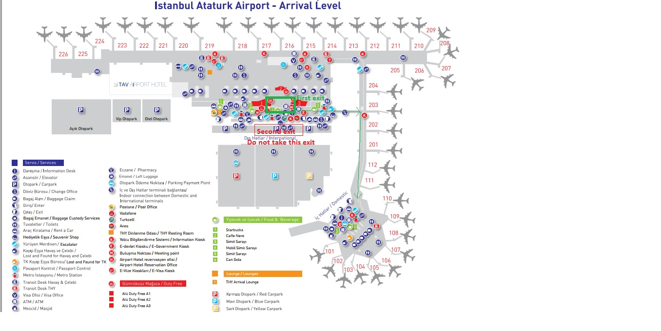 Travel Like Ant Transit at Istanbul airportInternational to