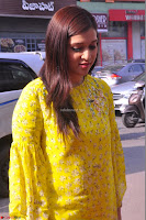 Mannara Chopra Looks Cute in Yellow Salwar Suit ~  Exclusive 52.JPG