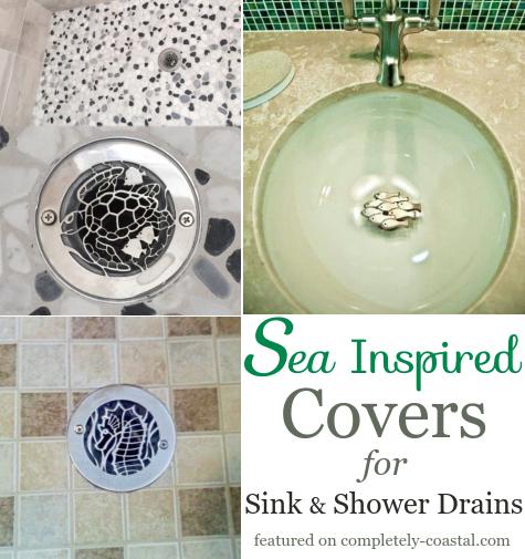 decorative coastal drain covers for