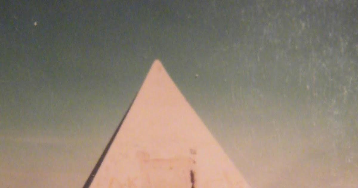 Une Pyramide dans le Désert Libyen à la Frontière Algérienne - Ghadamès