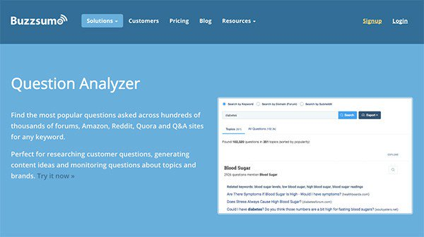 أداة Question Analyzer