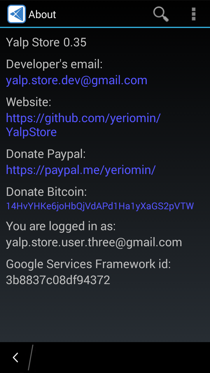 Yalp Store Download for BlackBerry