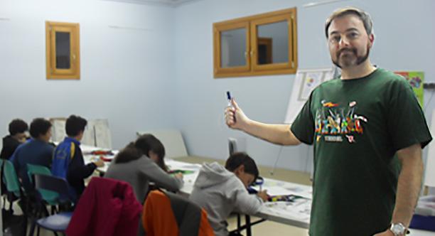 Curso de c mic oto o collado villalba asociaci n for Sala 8 collado villalba