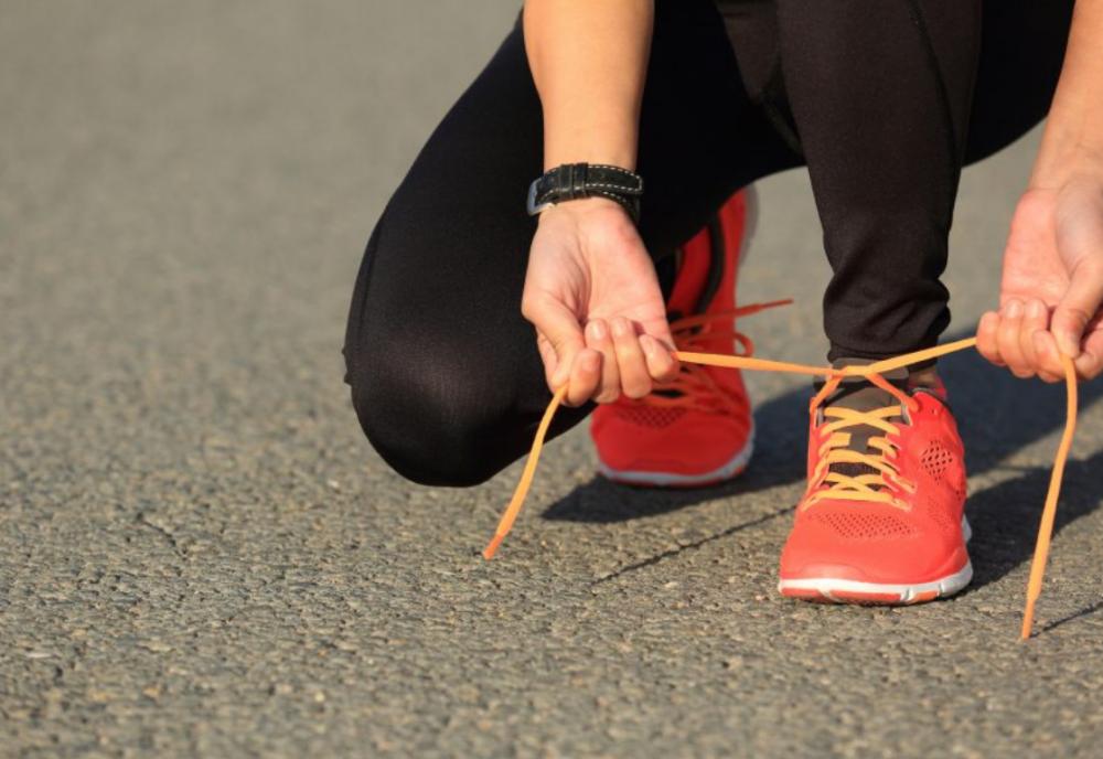 Laufen - der beste Fettkiller Schuhe