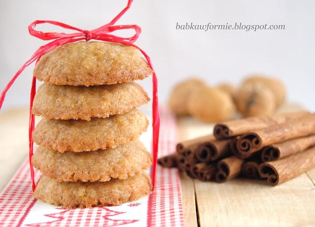 ciasteczka imbirowe z miodem