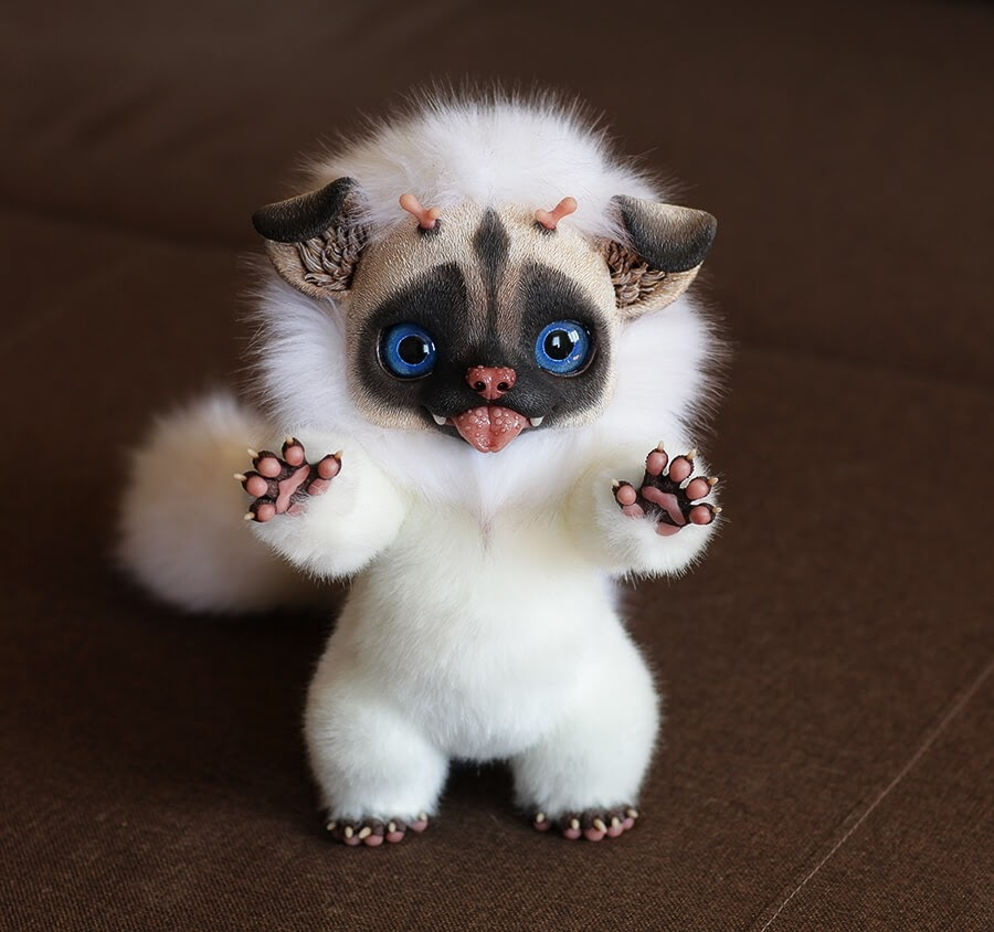 08-Happy-Fu-Puppy-Santaniel-Santani-Dolls-of-Little-Fantasy-Russian-Creatures-www-designstack-co