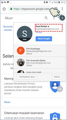 Cara 1 : Membuat Akun Gmail melalui Browser Android 6