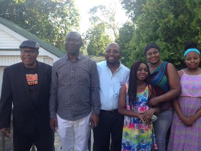 Ike Ekweremadu All Smiles As He Meets With Enugu Leaders In New York. Photos