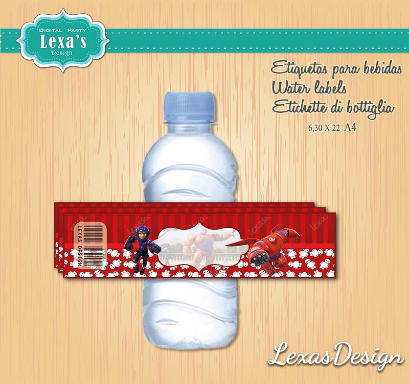 Etiquetas Jugo, Agua gratis