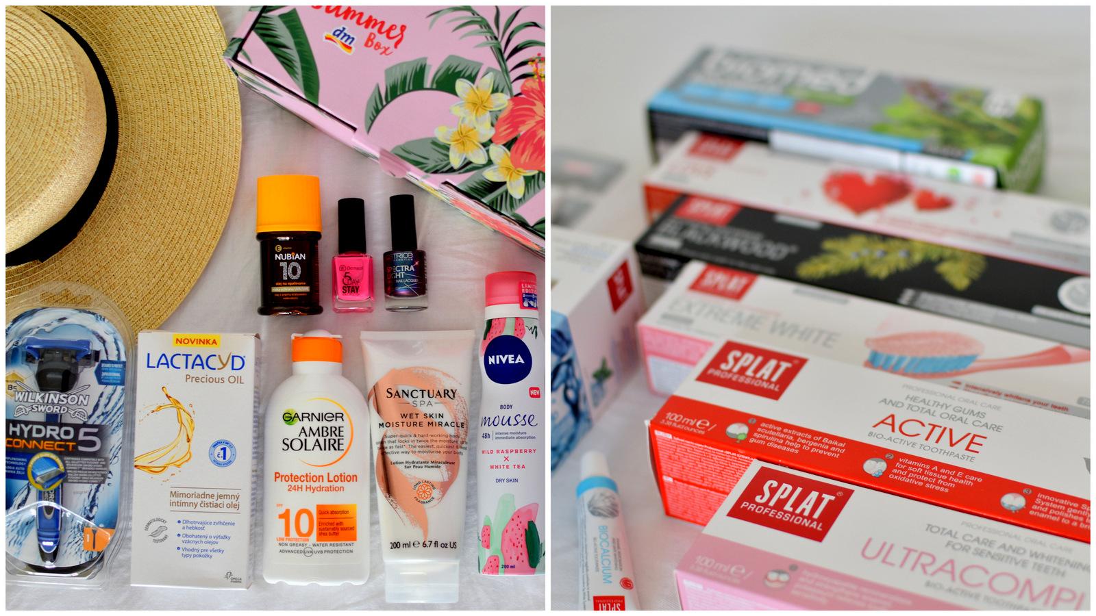 beauty tip: dm summer box & výrobky na ústnu hygienu splat