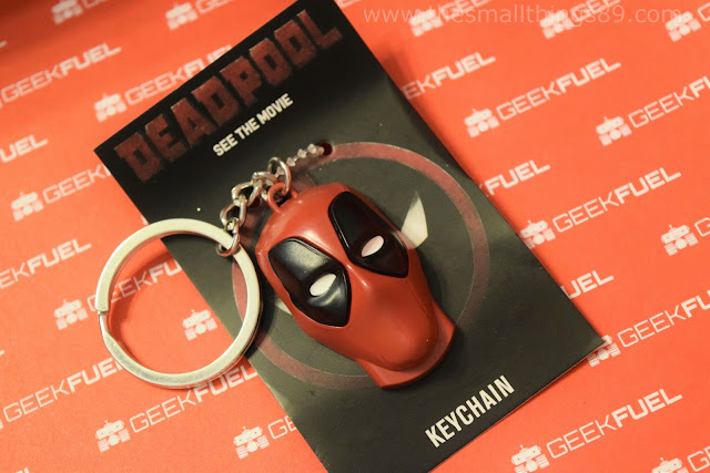 feb 2016 geek fuel box is deadpool themed the small things. Black Bedroom Furniture Sets. Home Design Ideas