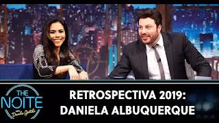 Daniela Albuquerque no The Noite