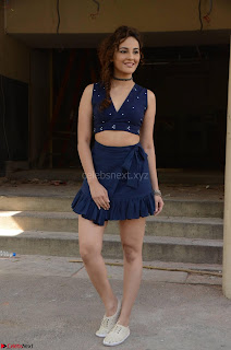 Seerat Kapoor Stunning Cute Beauty in Mini Skirt  Polka Dop Choli Top ~  Exclusive Galleries 058.jpg